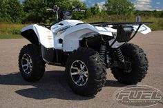 New 2017 Yamaha Grizzly EPS ATVs For Sale in Wisconsin. 2017 Yamaha Grizzly EPS, LOOKS GREAT IN WHITE! GET YOUR GRIZZLY TODAY! 2017 Yamaha Grizzly EPS TRAIL TESTED TOUGH Grizzly EPS is the best-selling big-bore utility ATV ready to tackle tough trails with superior style and comfort. Features may include: High-Tech Engine Designed For Aggressive Trail Riding The Grizzly® EPS features a powerful DOHC, 708cc, 4-valve, fuel-injected engine with optimized torque, power delivery and engine…
