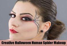 6 Creative Halloween Makeup Ideas - Simple Halloween Makeup Tips   Bash Corner