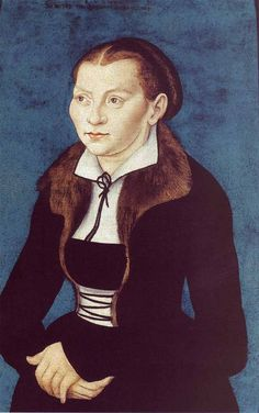 LUCAS CRANACH (1472 - 1553) | Portrait of Katharina von Bora - 1529. Deutsches Historisches Museum Berlin.