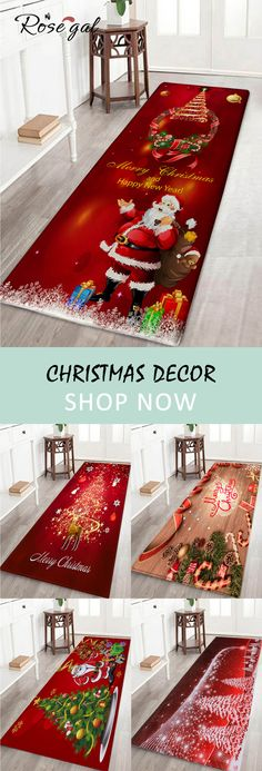 Up to off, Rosegal Christmas home decor floor decoration holiday style shower mats entrance mats bathroom rugs for Halloween Diy Christmas Decorations, Holiday Crafts, Holiday Fun, Holiday Decor, Holiday Style, Interior Design Minimalist, Minimalist Decor, Minimalist Bedroom, Minimalist Kitchen