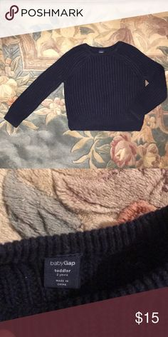 Cable Knit GAP Sweater (2T) Excellent NWOT. Washed but never worn GAP Shirts & Tops Sweaters