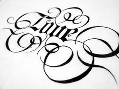 Lettering 2 by Anh vu, via Behance: