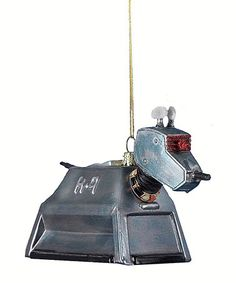 Look what I found on #zulily! Doctor Who K9 Glass Ornament #zulilyfinds