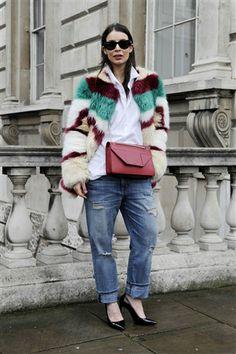 London Fashion Week AW'14 - Street Style, Day 2 #LFW #streetstyle