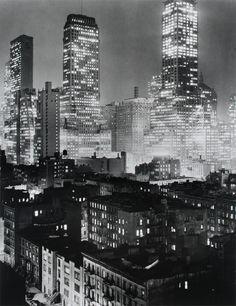 Midtown Manhattan by Andreas Feininger, 1942