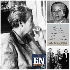Premio Nobel de Literatura en 1945 Gabriela Mistral (ARCHIVO EL NACIONAL)