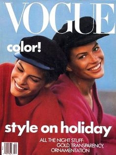 linda evangelista and carre otis photographed by peter lindbergh for vogue, june 1988