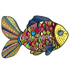 Fish vector 1496749 - by Elmiko on VectorStock®