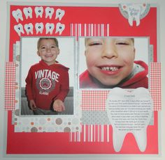 1st lost tooth - Scrapbook.com