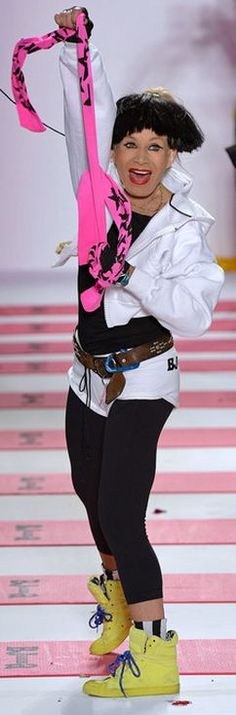 Betsey Johnson on the Runway - Fall 2013 NYFW (Funnest Fashion Shows at NYFW!)