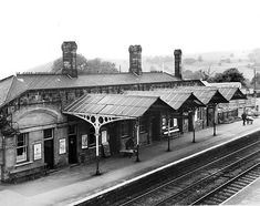 Disused Stations: Bakewell Station Old Train Station, Train Stations, Disused Stations, Steam Railway, Bakewell, British Rail, Peak District, Steam Engine, Abandoned Buildings