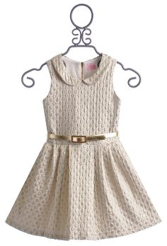 The perfect way to dote on your DD! This dress is perfect as a girls holiday dress!