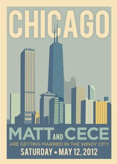 17 best save the date images on pinterest chicago skyline chicago