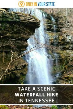 Enjoy wilderness and beautiful waterfalls on this scenic but challenging hiking trail in Tennessee. Department Of Environment, Laurel Falls, Waterfall Hikes, Tennessee Vacation, Natural Scenery, Beautiful Waterfalls, Hiking Trails, Wilderness, Travel Destinations