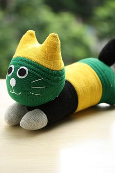 T9 Stuffed cat doll toy plush Personalized cat by Toyapartment