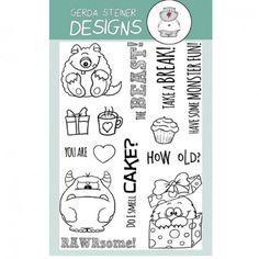 Gerda Steiner Designs Clear Stamps - Monster
