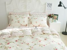Looking for great FADFAY Girls Shabby Duvet Cover Sets Floral Cotton Bedding Set Queen by cheap price? Bedding And Curtain Sets, Cheap Bedding Sets, Cotton Bedding Sets, Bedding Sets Online, Affordable Bedding, Queen Bed Sheets, Queen Bedding Sets, Luxury Bedding Sets, Comforter Sets