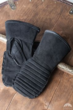 Padded Medieval Mittens