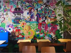 World's First My Little Pony Cafe Blows Into Tokyo on a Rainbow Cloud of Wonder - Eater
