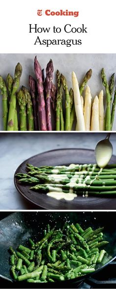Learn how to choose the best asparagus, and master a variety of cooking methods for this springtime favorite. (Photos: Karsten Moran for The New York Times)