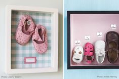 keepsake shoe idea