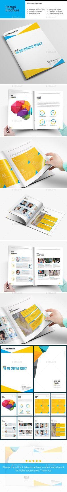 Corporate Brochure Template InDesign INDD #design Download: http://graphicriver.net/item/corporate-brochurev06/13231042?ref=ksioks