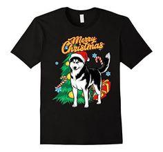 Husky Dog breed T-Shirt Husky Cross Breeds, Dog Breeds, Husky Dog, Pet Fashion, Christmas Animals, Dogs, Mens Tops, T Shirt, Clothes