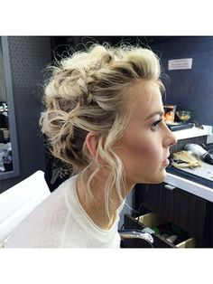"37 Gorgeous Hair Ideas to Steal From Instagram: Julianne Hough's looped braid updo | <a href=""http://allure.com"" rel=""nofollow"" target=""_blank"">allure.com</a>"