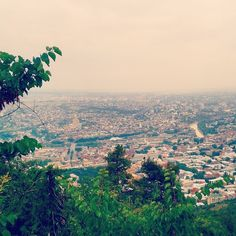View of Tbilisi from Mtatsminda                Photo is taken by me