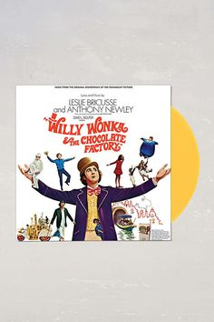 Leslie Bricusse And Anthony Newley - Willy Wonka And The Chocolate Factory Soundtrack LP - Urban Outfitters