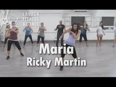 Zumba ® fitness class with Lauren-Ricky Martin Maria - YouTube