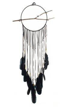 Torchlight Jewelry Black Gossamer Dream Circle | TORCHLIGHT