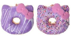 Purple and donuts are awesome so why not bye me this Silly Squishies, My Little Beauty, Animal Snacks, Figet Toys, Just You And Me, Cat Party, Sanrio Characters, Sanrio Hello Kitty, Kawaii Cute
