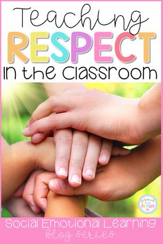 Teach children about respect honesty and gratitude at school and in the classroom with these social-emotional learning lessons and hands-on activities for kids. Build social skills with picture books writing lessons games role-playing and more fun ideas. Respect Activities, Teaching Kids Respect, Teaching Tips, Social Activities, Bullying Activities, Teaching Emotions, Teaching Memes, Teaching Chemistry, Teaching Colors