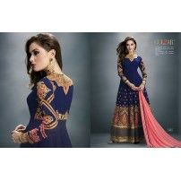 Beautiful Gulzar straight cut collection  dress
