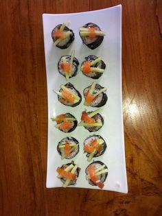 Lekkere zelfgemaakte sushi
