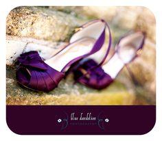 Aubergine shoes