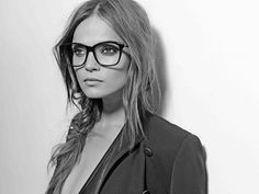 Dita Eyewear campaign A/W 12-13. Now my hipster glasses don't seem so bad.