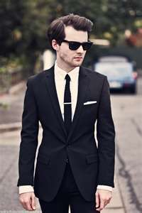 I can see my lil ring bearer in a sharp fit like this!