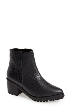 To Be Announced 'Dallon' Ankle Boot (Women) available at #Nordstrom