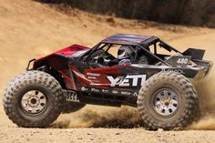 AX90032 - Axial Yeti XL Monster Buggy Rock Racer 4WD RTR - CKRC Hobbies #ckrchobbies