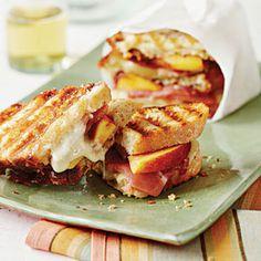 Country Ham-and-Peach Panini | MyRecipes.com