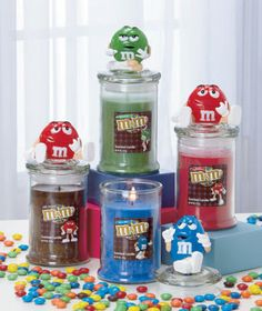 M&M's® Character Jar Candles $5.95 a piece Warehouse Summer Blowout - LTD Commodities