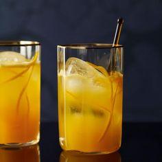Rocking Orange | This terrific brunch mocktail combines multiple forms of citrus fruit: orange, lemon and mandarin orange juices, plus orange syrup and orange peel.
