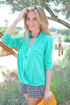 Shades Of Color ( Silk Shirts & Blouses & Graphic Shorts ) with