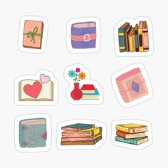 Journal Stickers, Transparent Stickers, Glossier Stickers, Book Worms, Decorative Stickers, My Arts, Bullet Journal, Art Prints, Artists