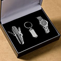 Three Piece Gift Set | #exclusivelyweddings | #groomsmengifts.....gift for dad