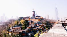 #Nanjing, the City of Emperors, is situated on the south bank of Yangtze River and it is the capital of Jiangsu Province. It's a modern city offering a rich heritage to explore, notably the City Wall built by the first emperor of the Ming Dynasty, Zhu Yuanzhang, who also selected the city as China's capital.
