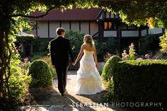 Bride and Groom, Garden wedding photos, Luminous,St. Clements Castle, Portland CT. CT Wedding Photographer, www.sebastianphoto.com