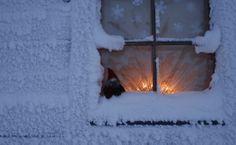 Christmas eve's window   -Saariselkä Lapland Finland -Joulu ikkuna  Saariselkä, Lappi